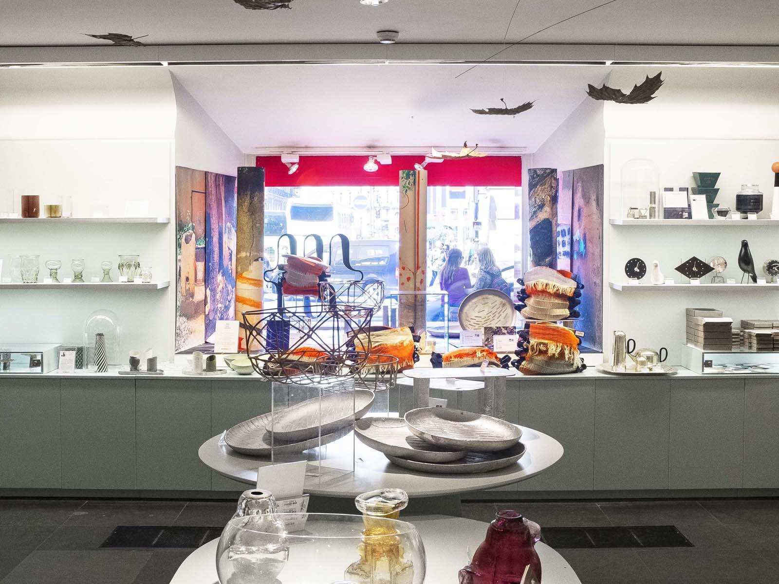 Photo by: Émile Barret - Hors Pistes' products at the  Musée des Arts Décoratifs de Paris  shop • 2015