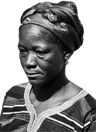 ADJA TOU  Palm weaver, BURKINA FASO