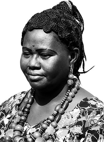 AOUA COULIBALY  said  TANTIE REBECCA Benkadi Gouafo association leader