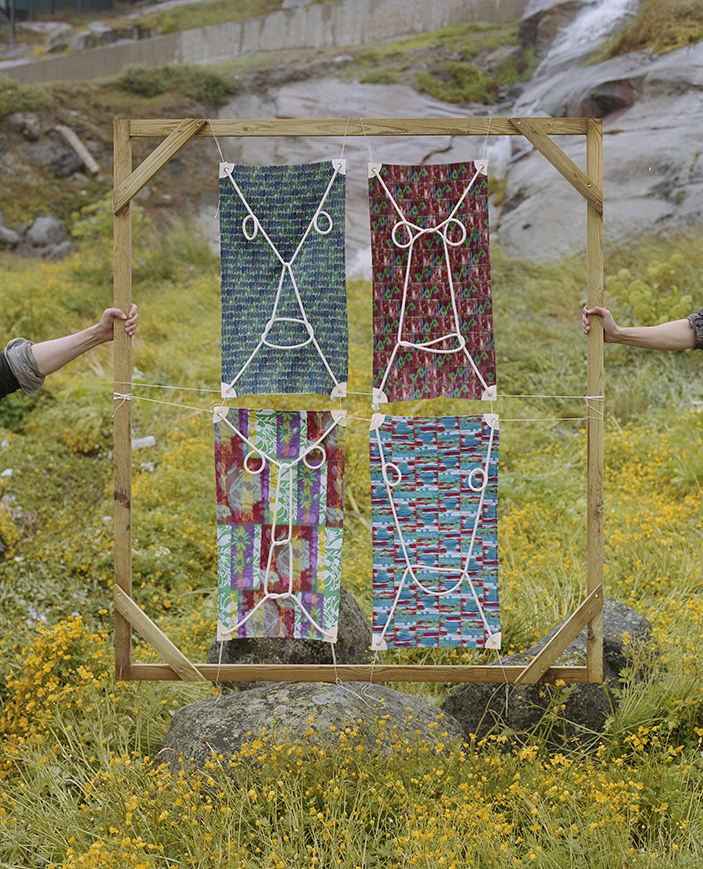 """Well wishers  — Simón Ballen Botero, Sara Marie Lyberth, Johanne Markussen & Hanseenaaraq Petersen """"Nukannguaq"""" Nuuk 2017 Photo: ©Émile Barret / Hors Pistes"""