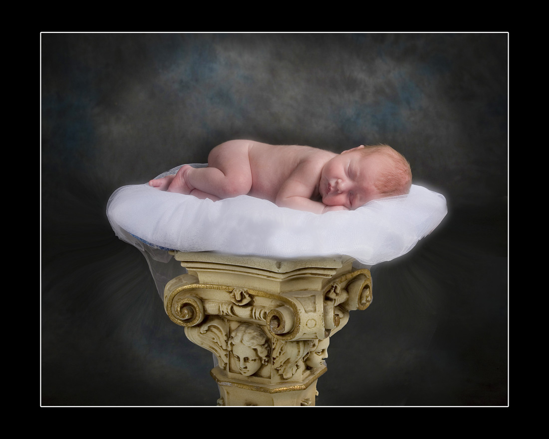 new born baby sleeping