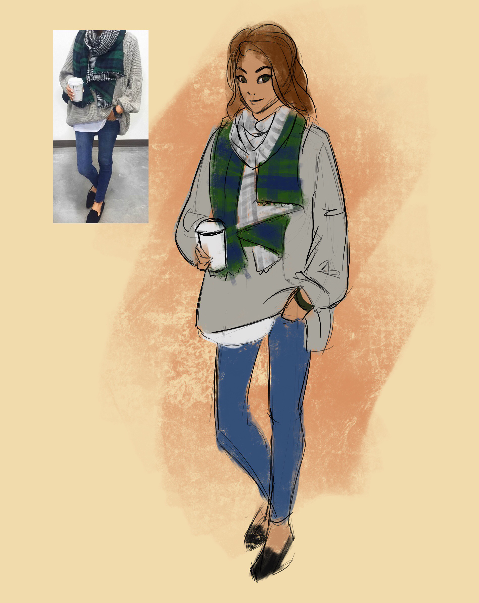 OutfitDrawing-02_July2017_by_HannahMarshall