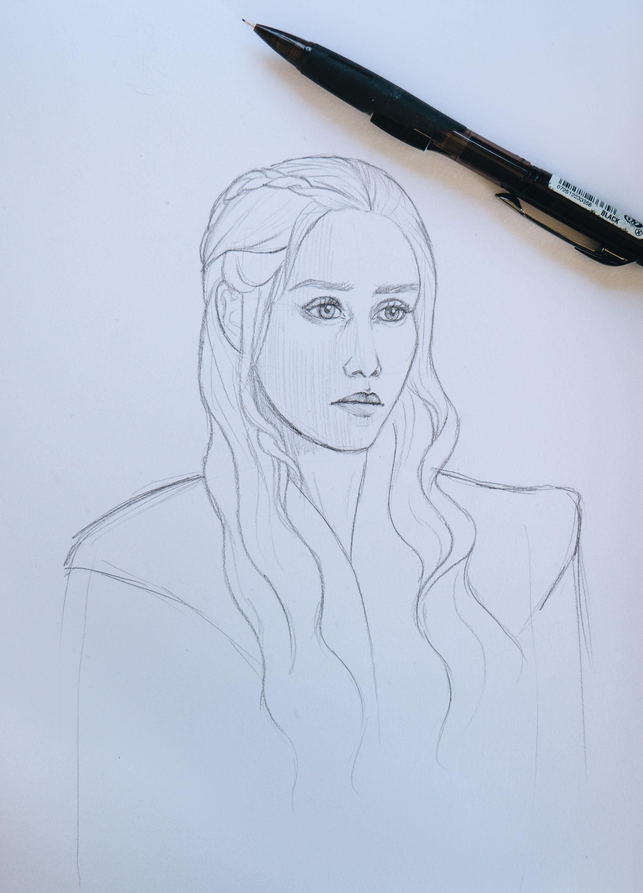Daenerys Targeryen from Game of Thrones :)