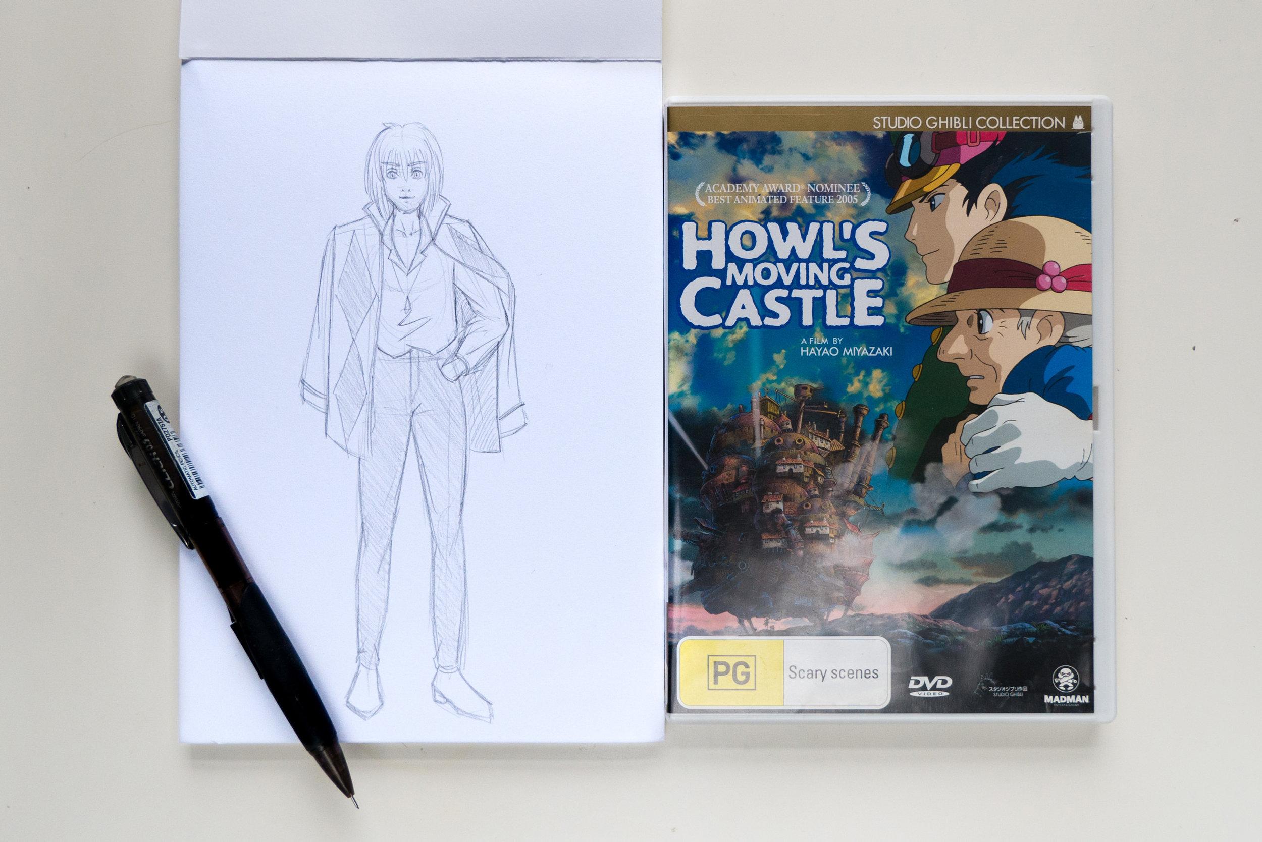 Howl from Howl's Moving Castle
