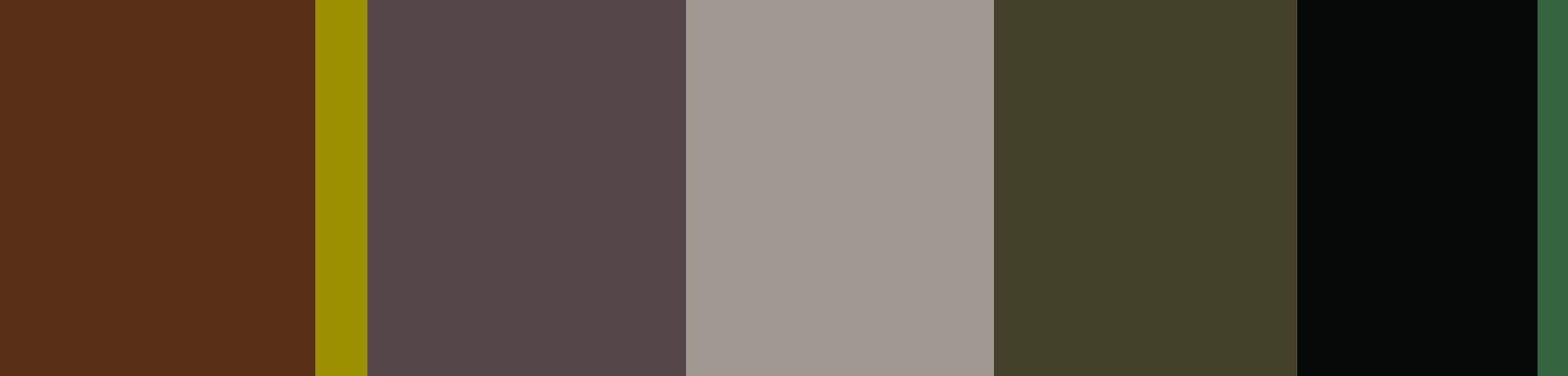 Kleurkaart Analog November 2014