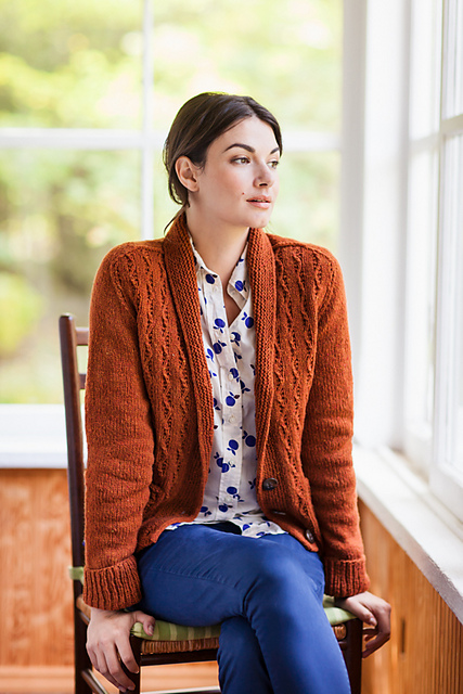 As always a sweater option. Little Wave by Gundrun Johnston for Wool People Vol. 6. Image courtesy of Brooklyn Tweed / Jared Flood.