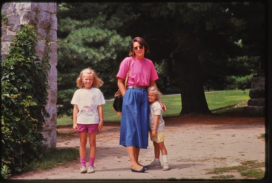 A photo of my big sister, my Mum, and me. I hope this post didn't make you blush too much.