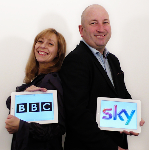 Garry & Elaine Holtom Logo Design High Wycombe