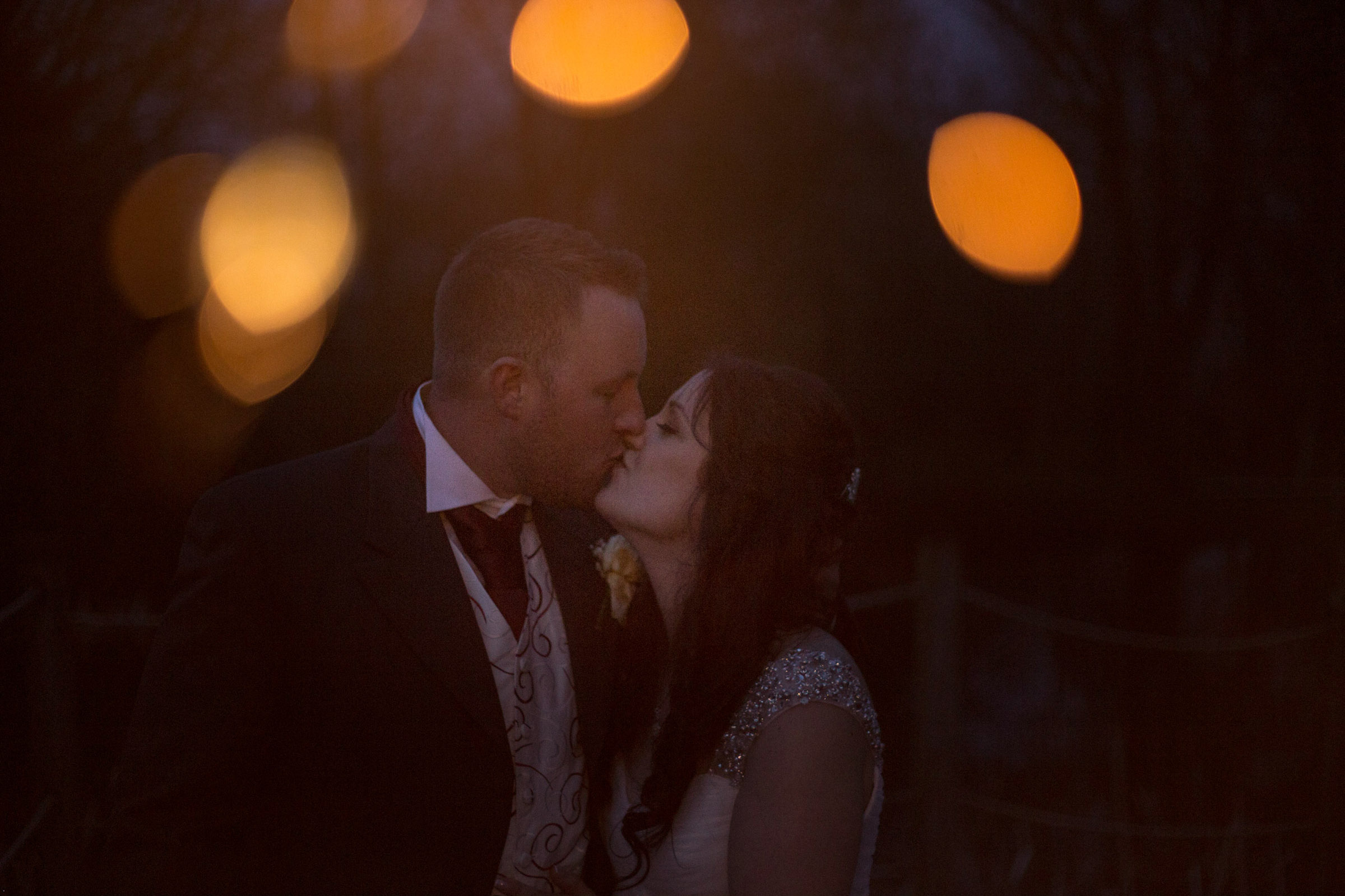 Wedding Photograph using Sparklers