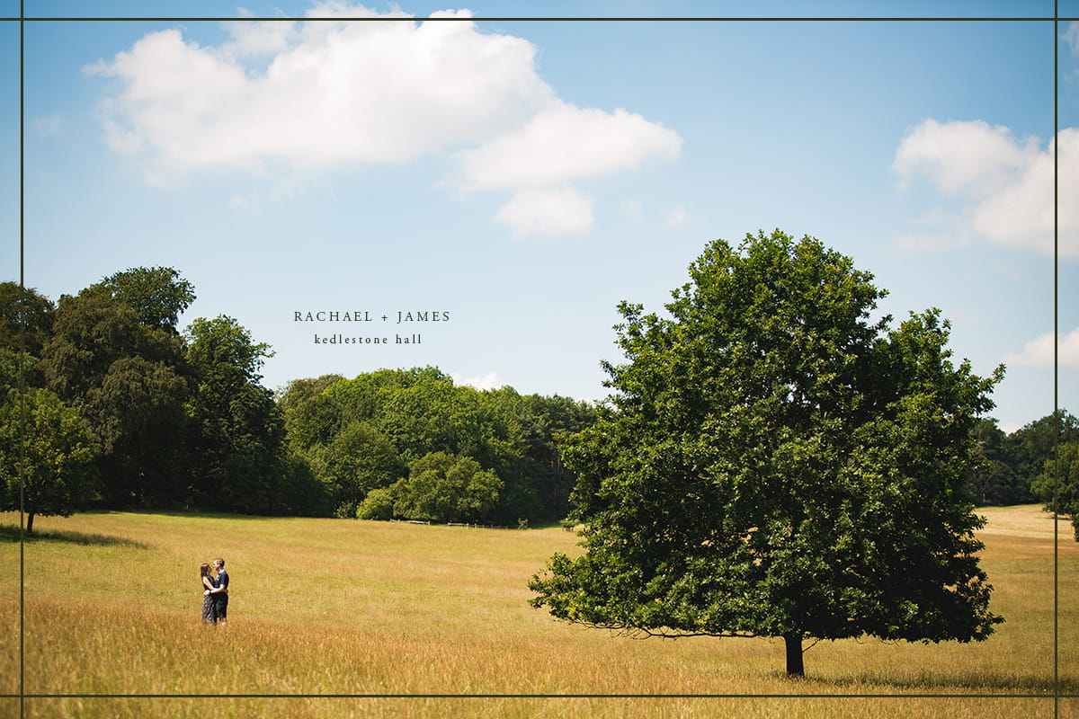 Kedlestone Hall Engagement Shoot
