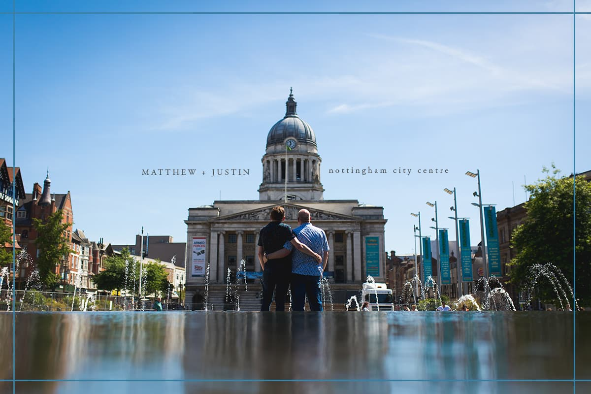 Nottingham City Pre Wedding Shoot