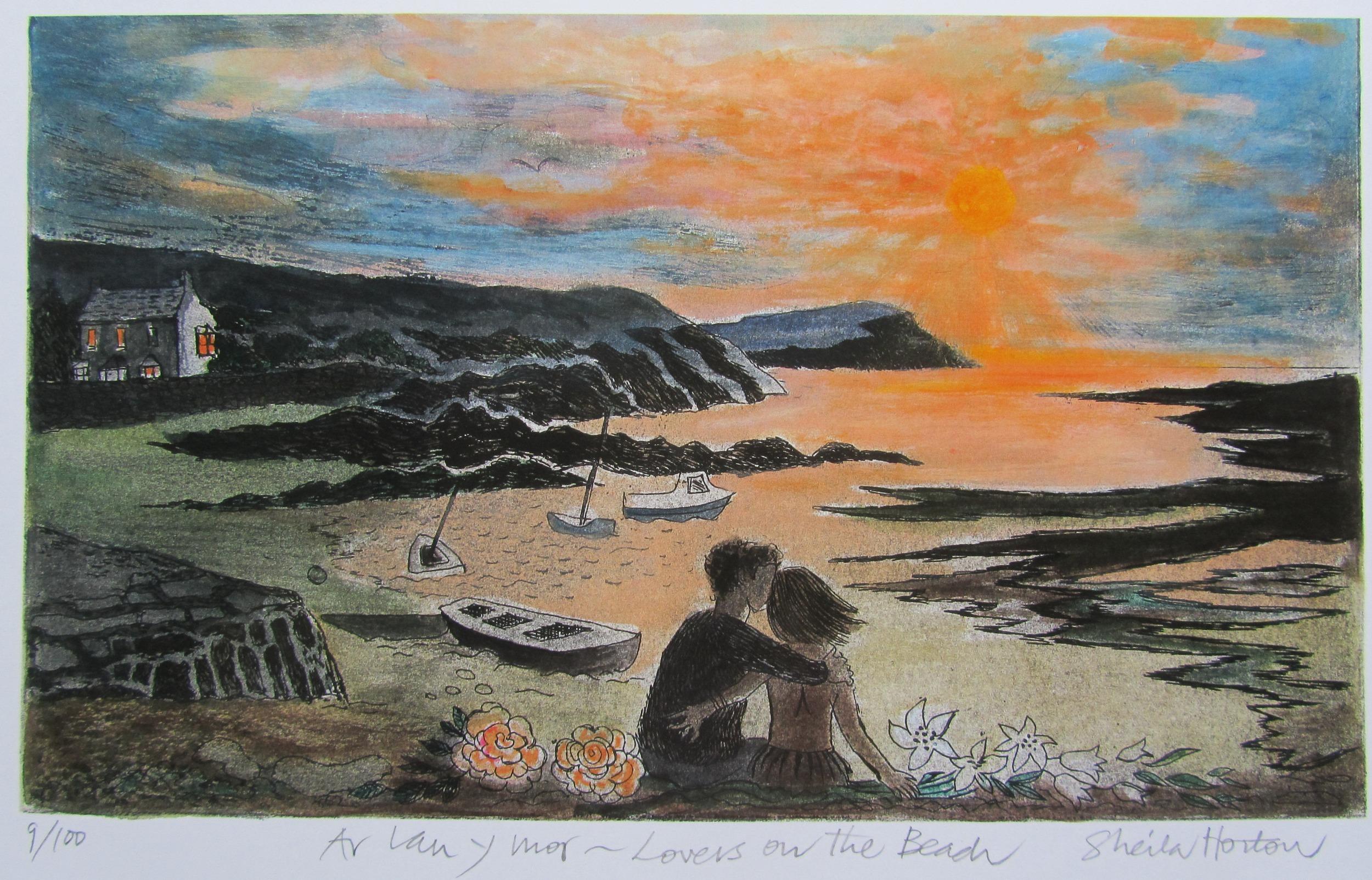 Ar Lan Y Mor by Sheila Horton