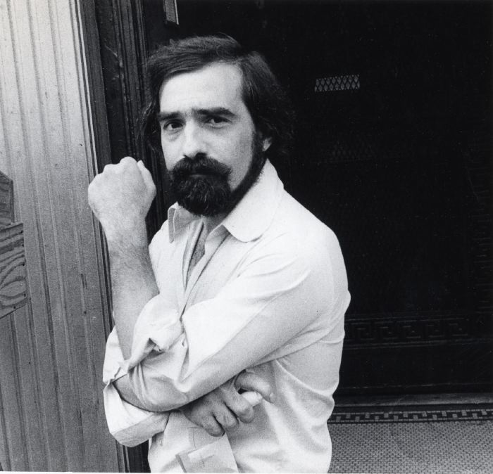 Martin Scorsese 1979, on 2nd Ave. filming Raging Bull