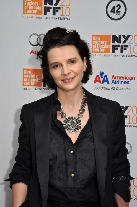 Juliette Binoche NYFF 2010
