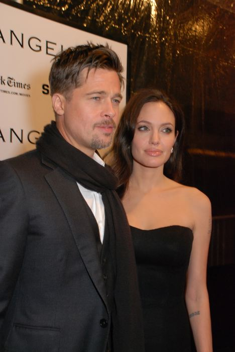 Brad Pitt, Angelina Jolie NYFF 2008