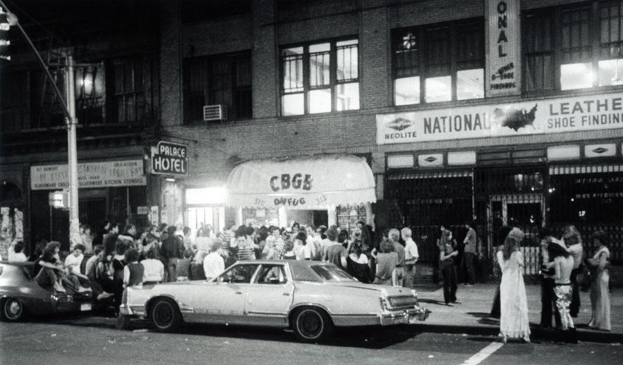 View from Bowery, Summer 1977