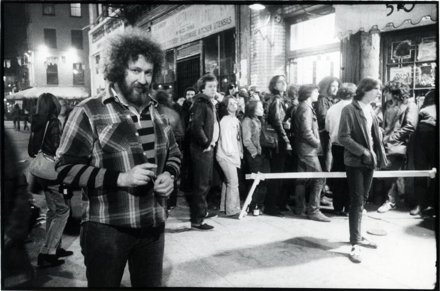 Hilly Kristal, Bowery 1977
