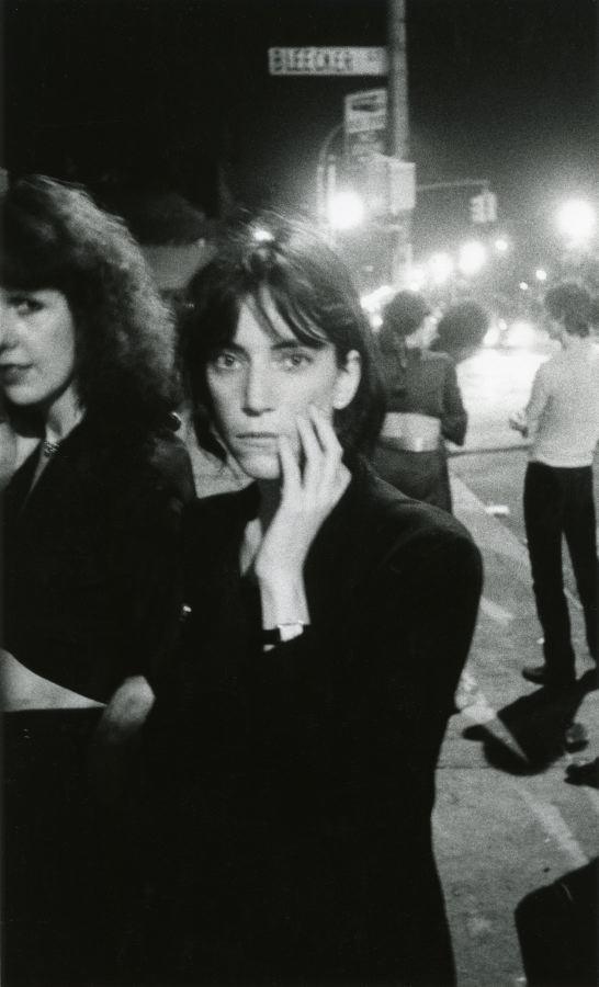 Patti Smith, Bowery 1976
