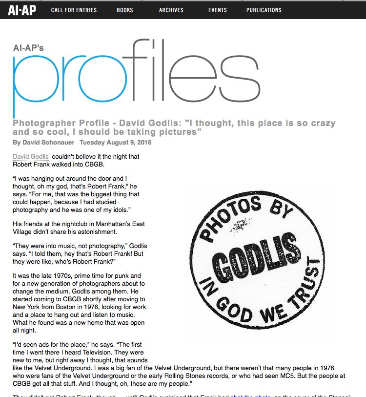 AP ProFiles - August 2016 - David Schonauer