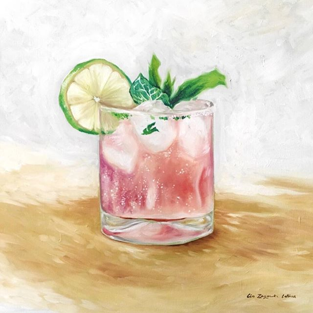 Is it 5:00 yet? 🍹  I'm hoping to carve out some time to paint again this weekend.