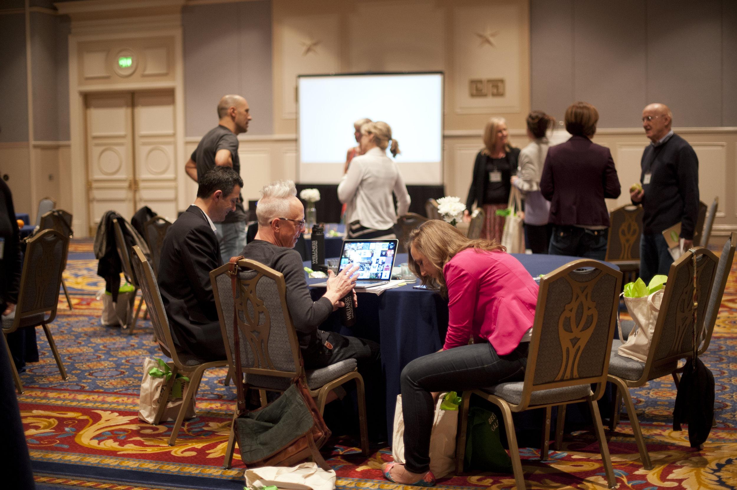 headline speakers, peer presenters, surprise speakers and attendees...we are all colleagues