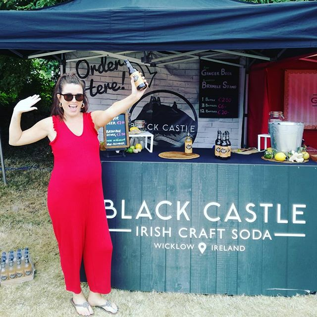 That's a wrap! Thank you to every who visited our stand today @tasteofwicklow Brilliant day, so well organised! Probably the last festival for Riva before baby Black Castle arrives! 😆