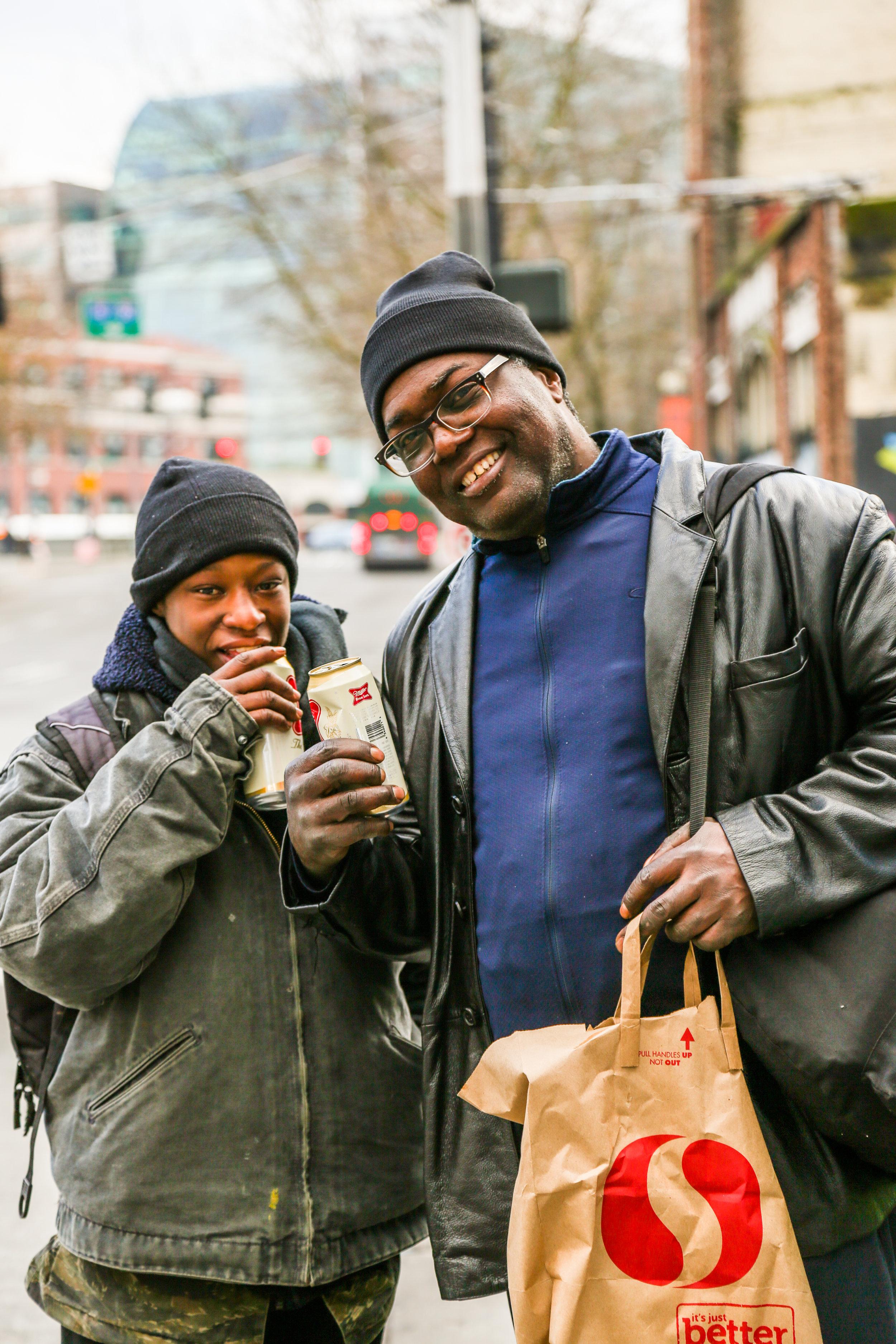 Homeless, Seattle