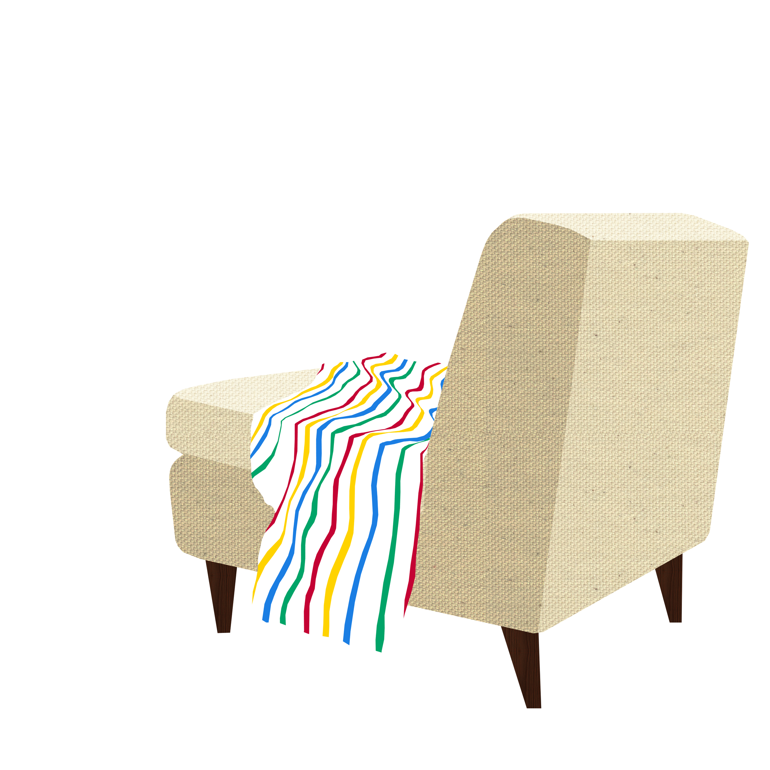Chair + Blanket
