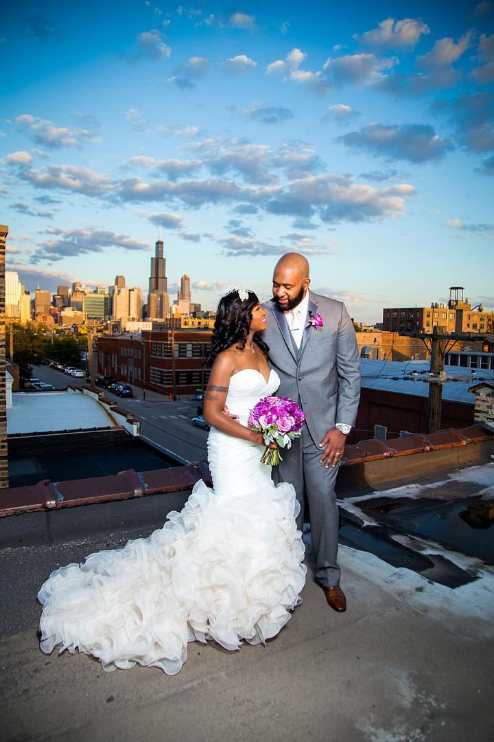 Candice & Marlon  Chicago, IL