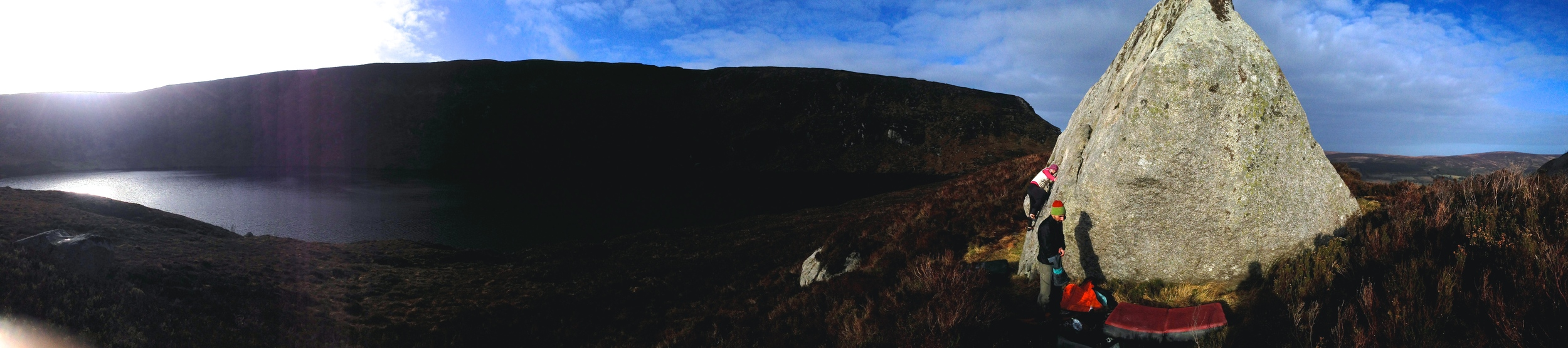 The original panoramic with only a slight tweak to the exposure to brighten....