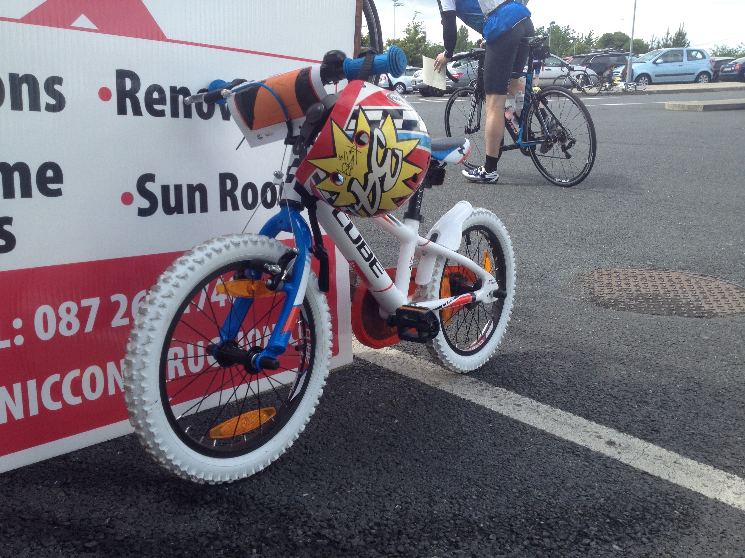 I oh-so-badly wish I'd been good enough to do the Wicklow 100 on this little thing.......
