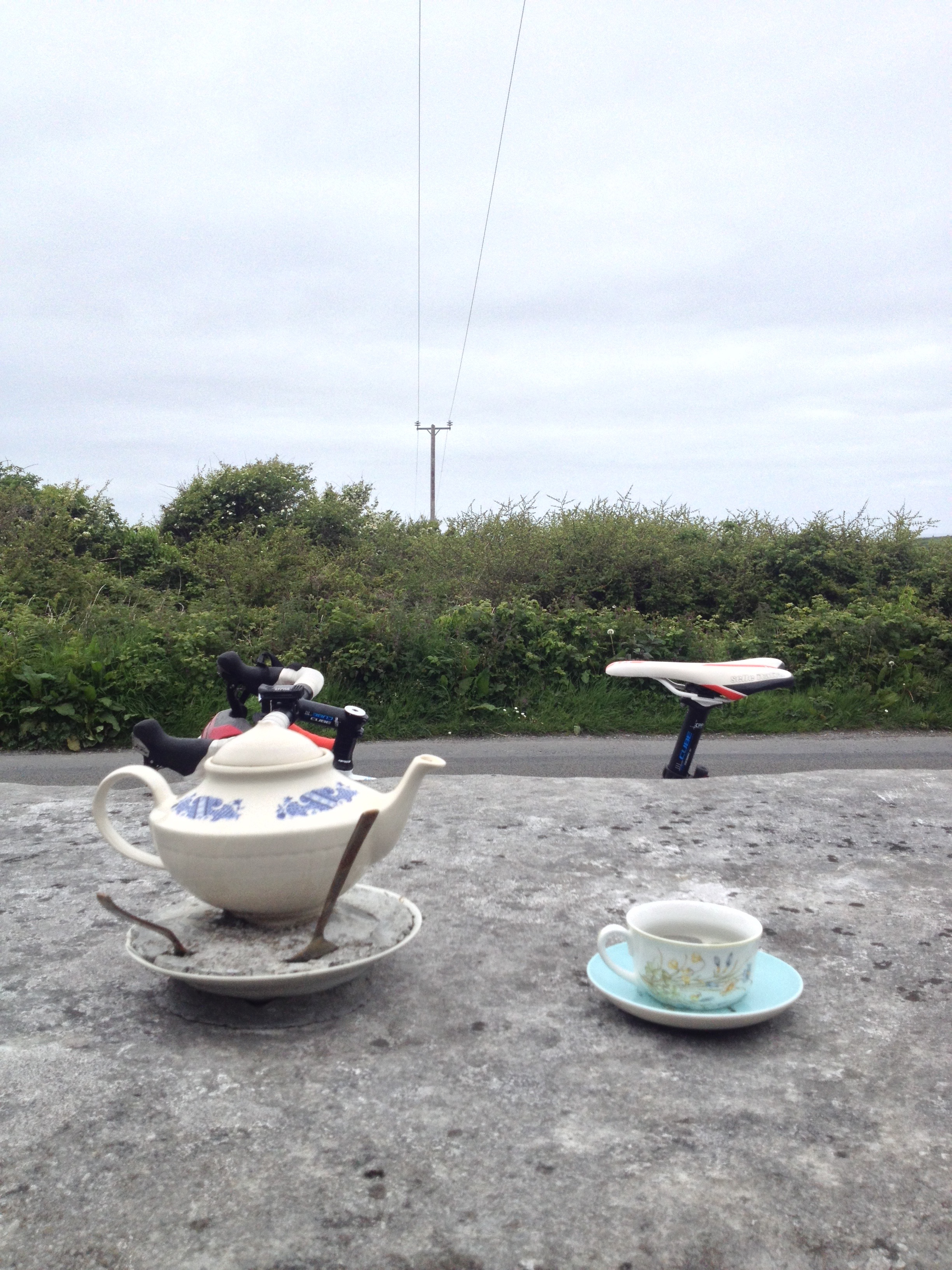 Fanore, Co. Clare - never noticed this completely random road-side ornament before. Anyone know the history?