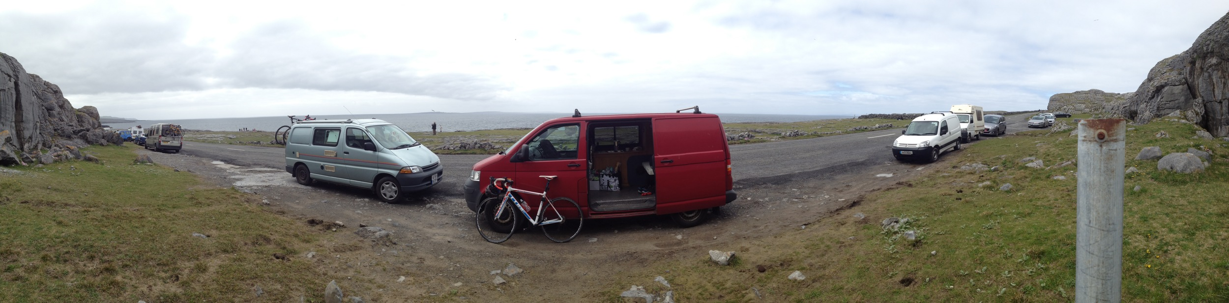 Just another van in Clare. The era of camper vans is well and truly here in Ireland.