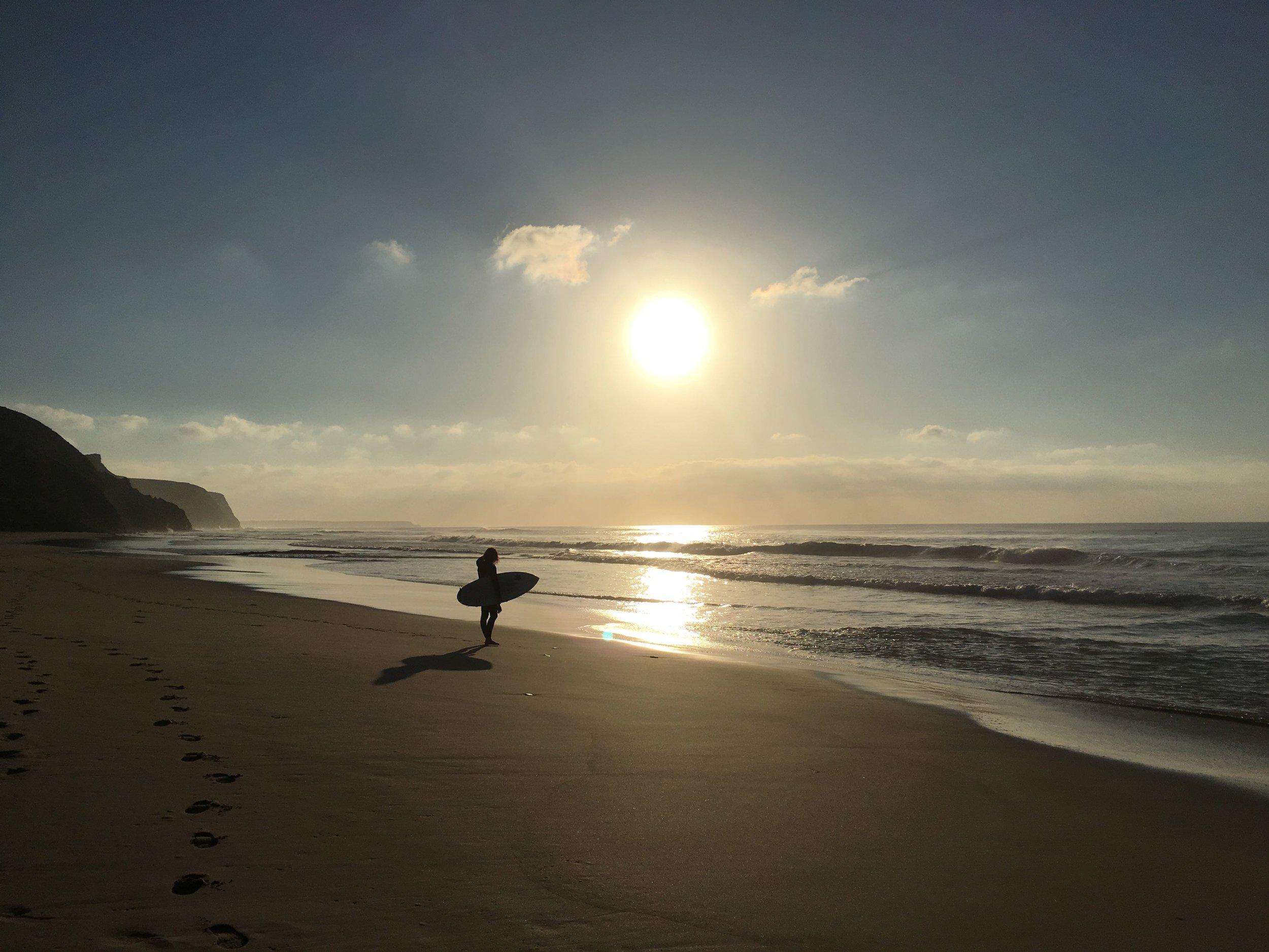 it's a tough life as a surfer....