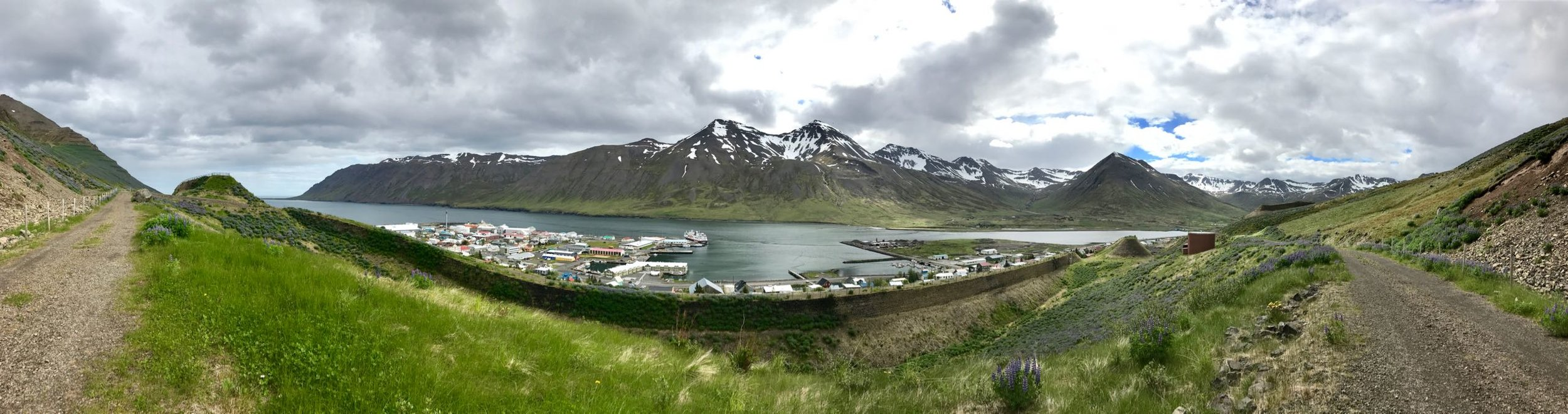 'City' life in North Iceland