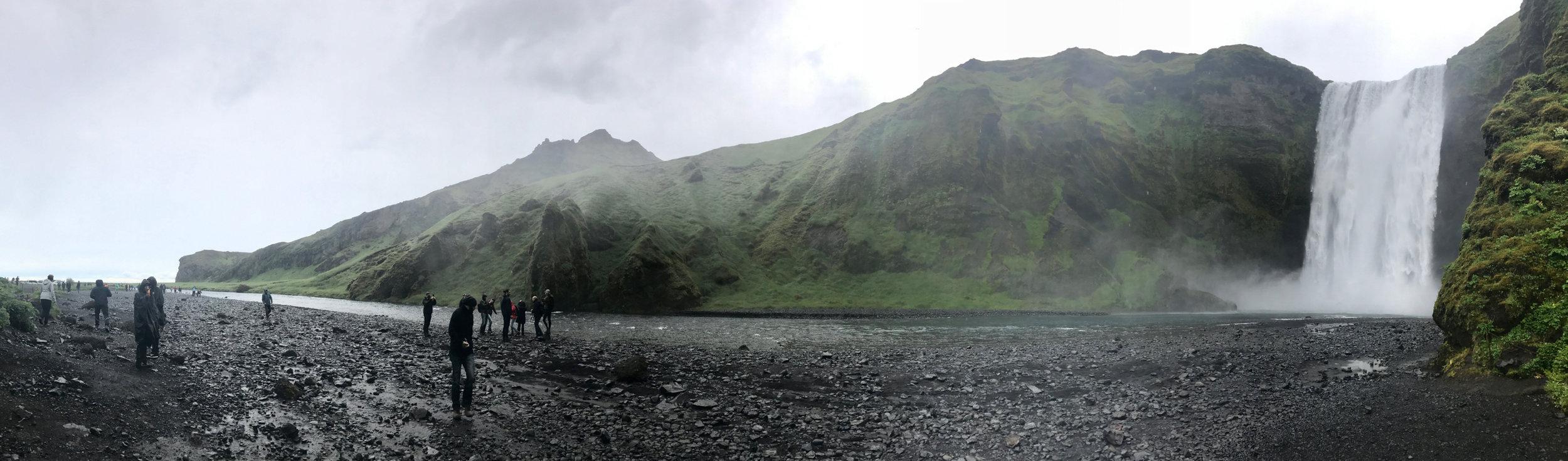 Dedifoss waterfall
