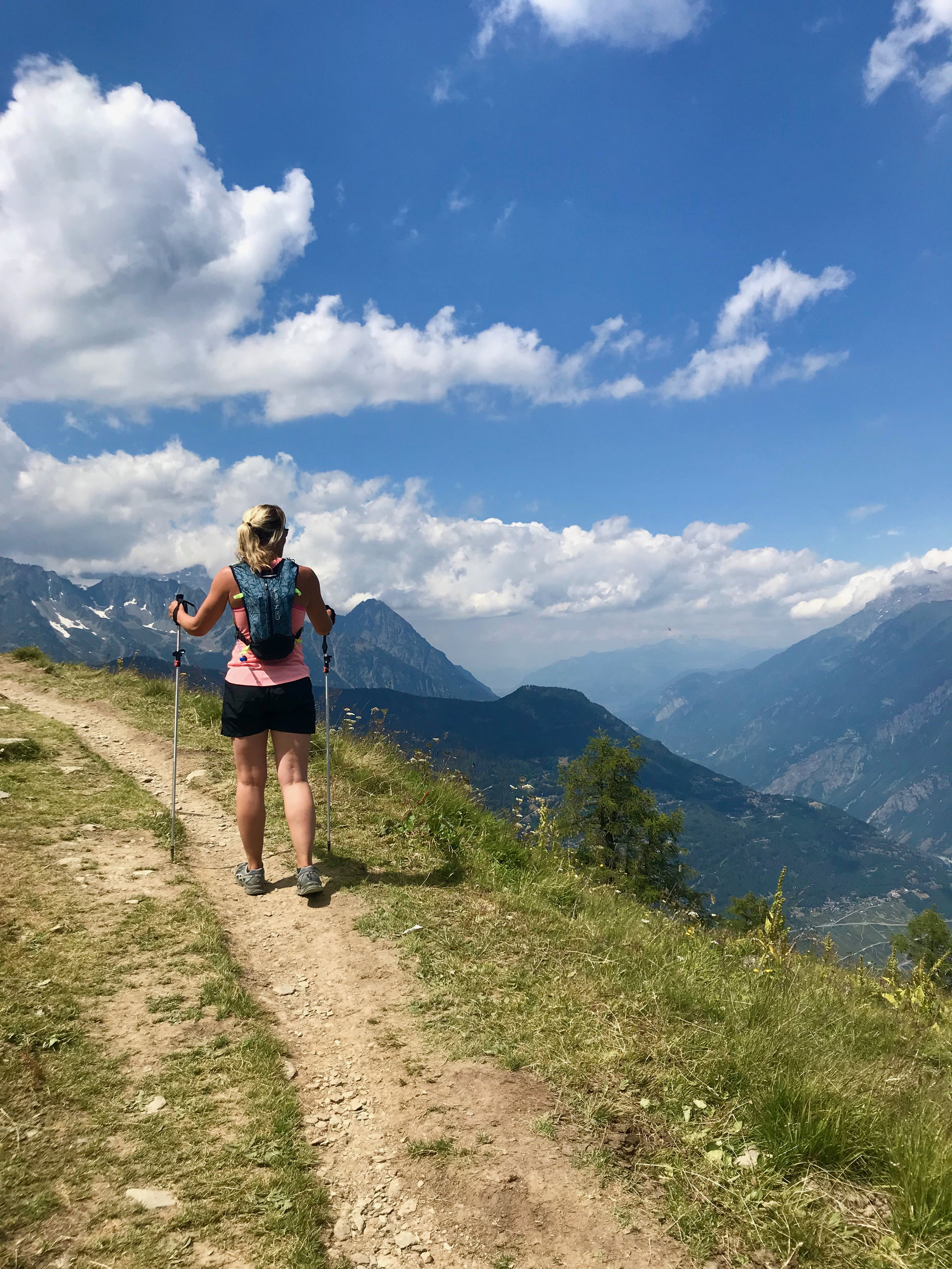Quechua 10-litre trail running backpack, purchased Decathlon