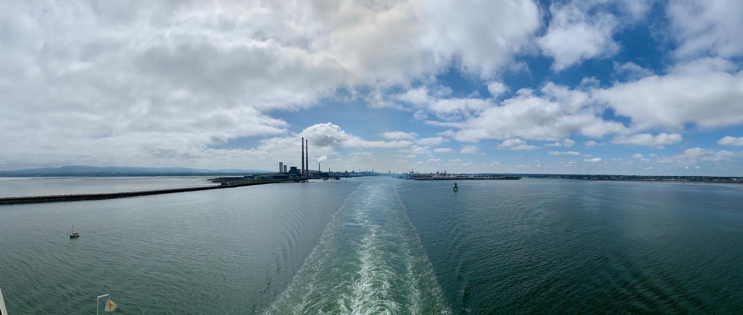 so long Dublin….