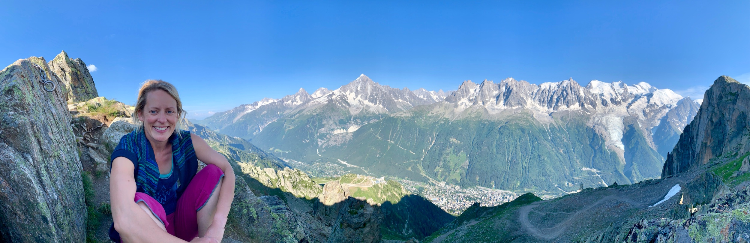 What. A. View. The Mont Blanc Massif.