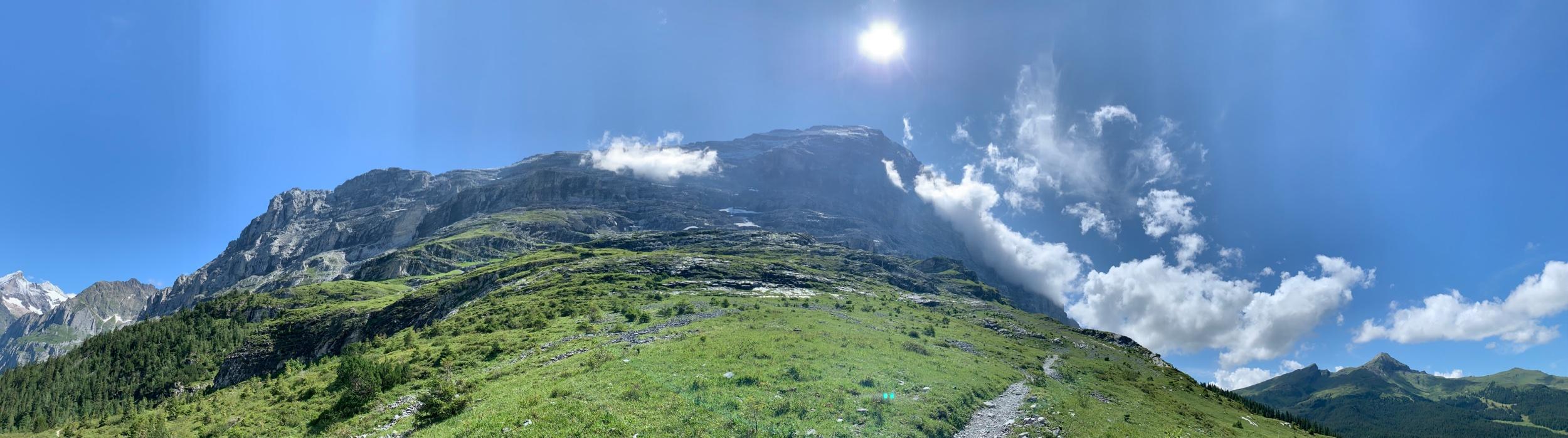 Amazing trail runs under the Eiger
