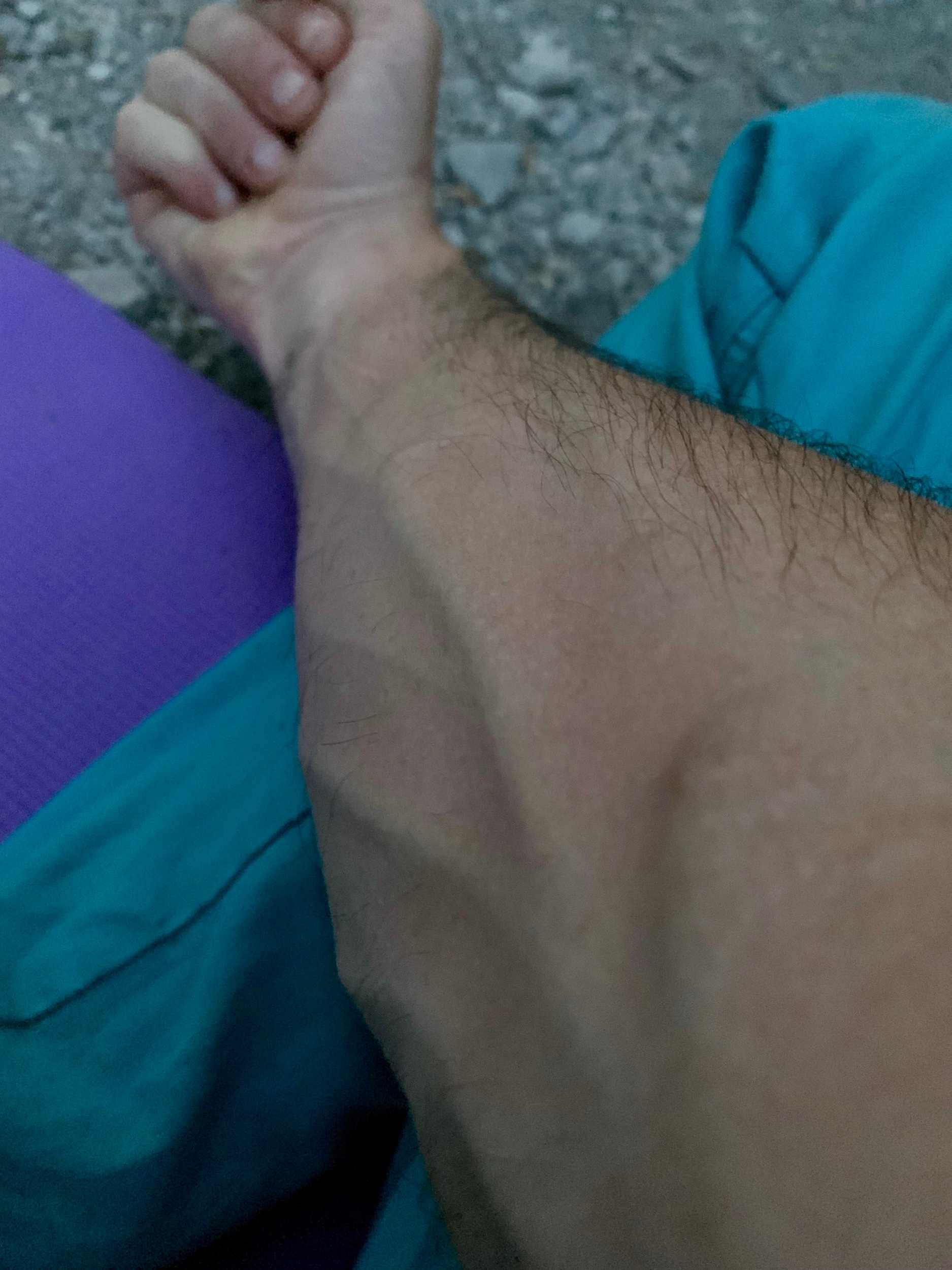 Expect a lot more of this, pumped forearms, in the next post 👊