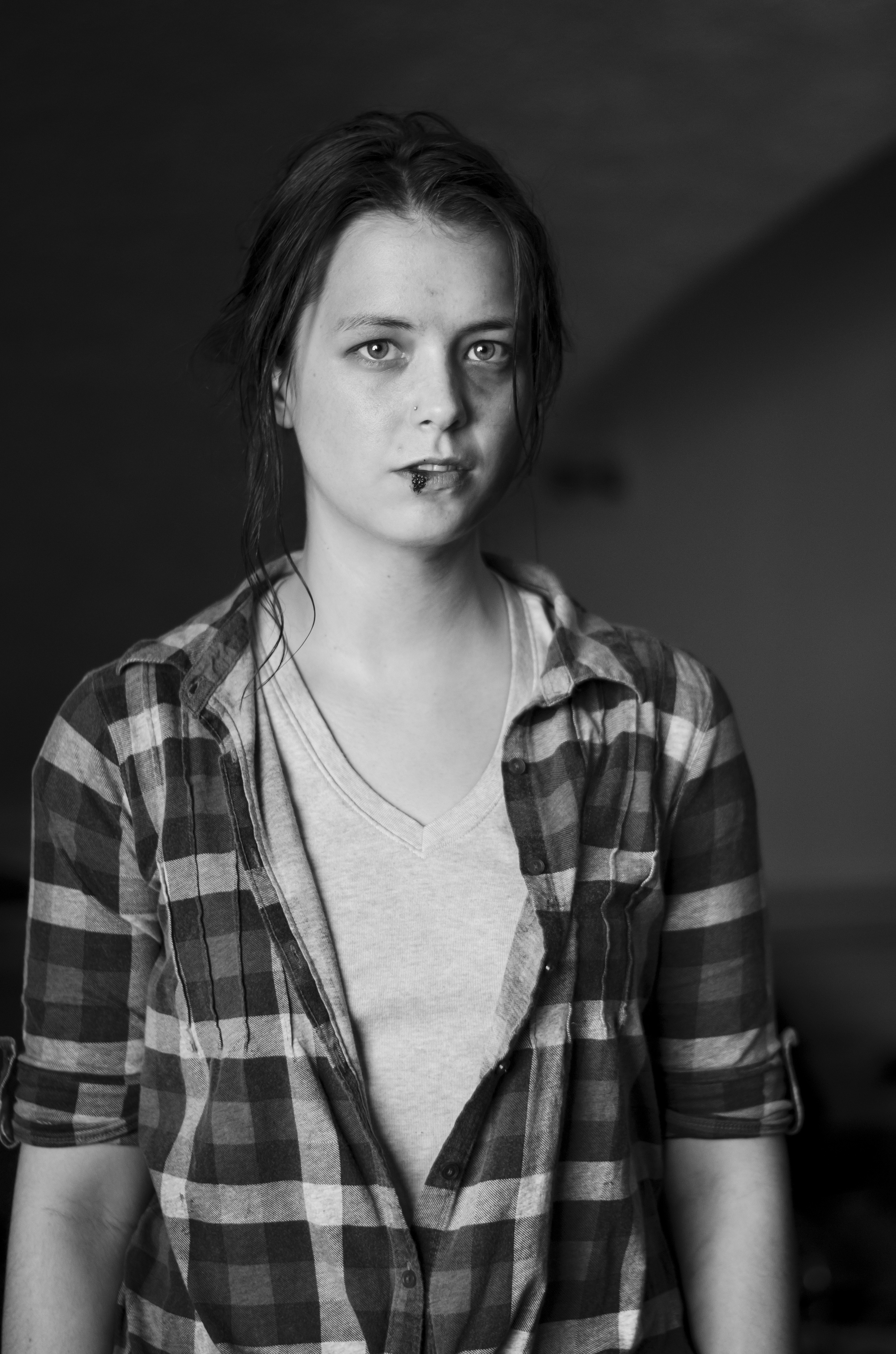 "Actress Lauren A. Kennedy as  Robin  in ""They Hunger""  Proof of Concept                                                 © 2014 A. Meadows Photography"