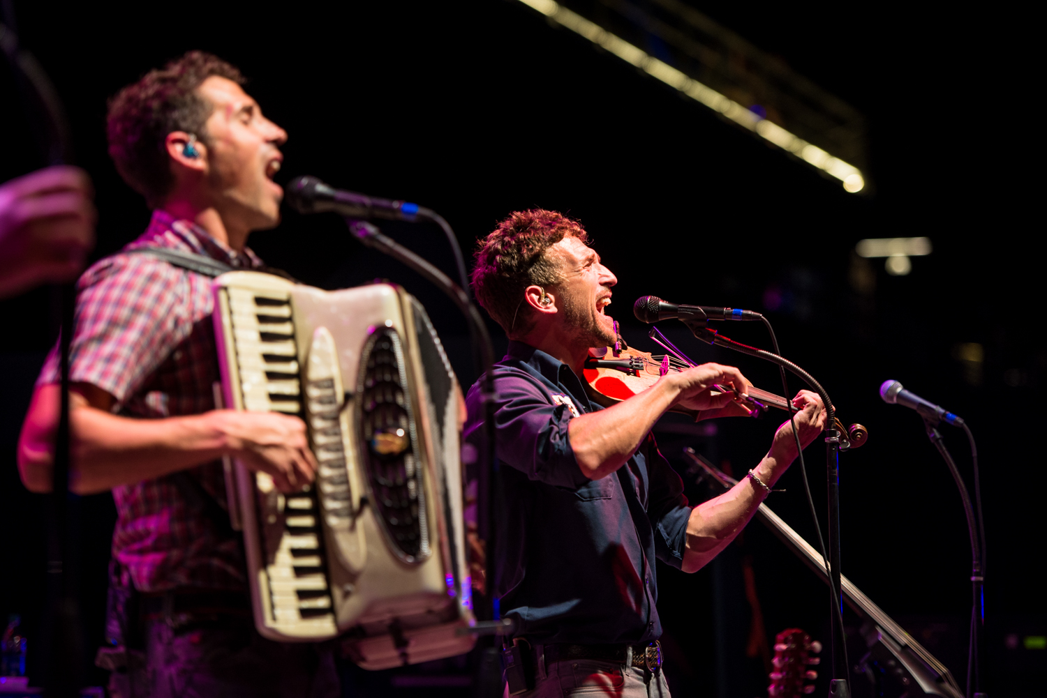The band Scythian performing at Summer Music Festival  Musikfest, August 2016 in Bethlehem, Pennsylvania.  Americaplatz.