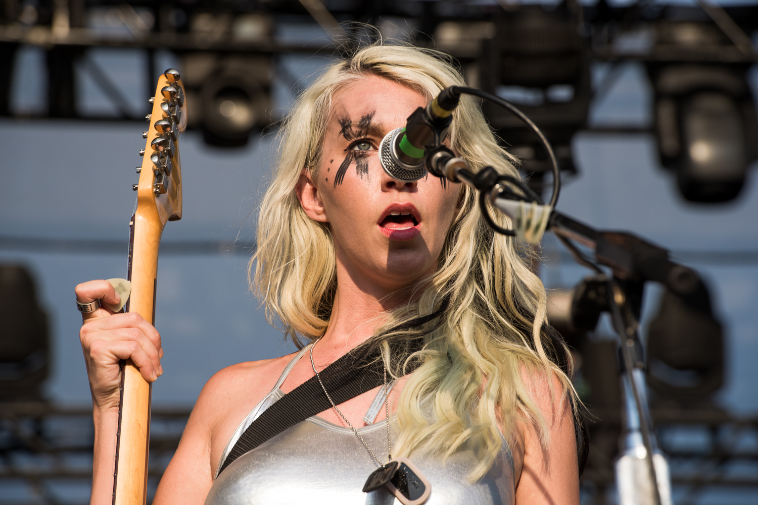 The Dead Deads, Summer Music Festival  Musikfest, August 2016 in Bethlehem, Pennsylvania.  Sands Steel Stage.