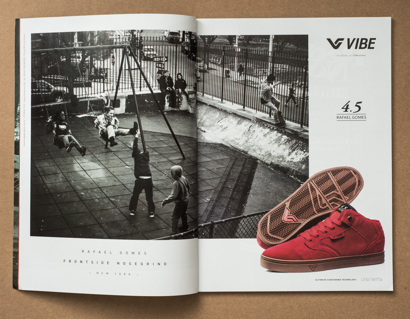 Vibe Shoes  campaign.