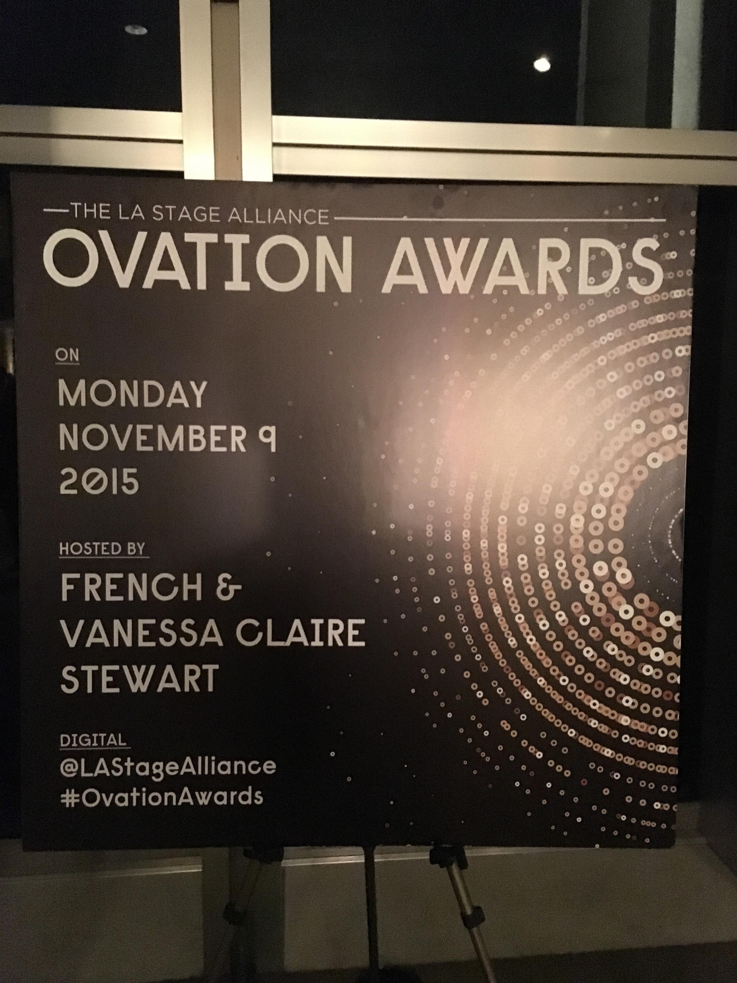 Ovation Awards poster.JPG
