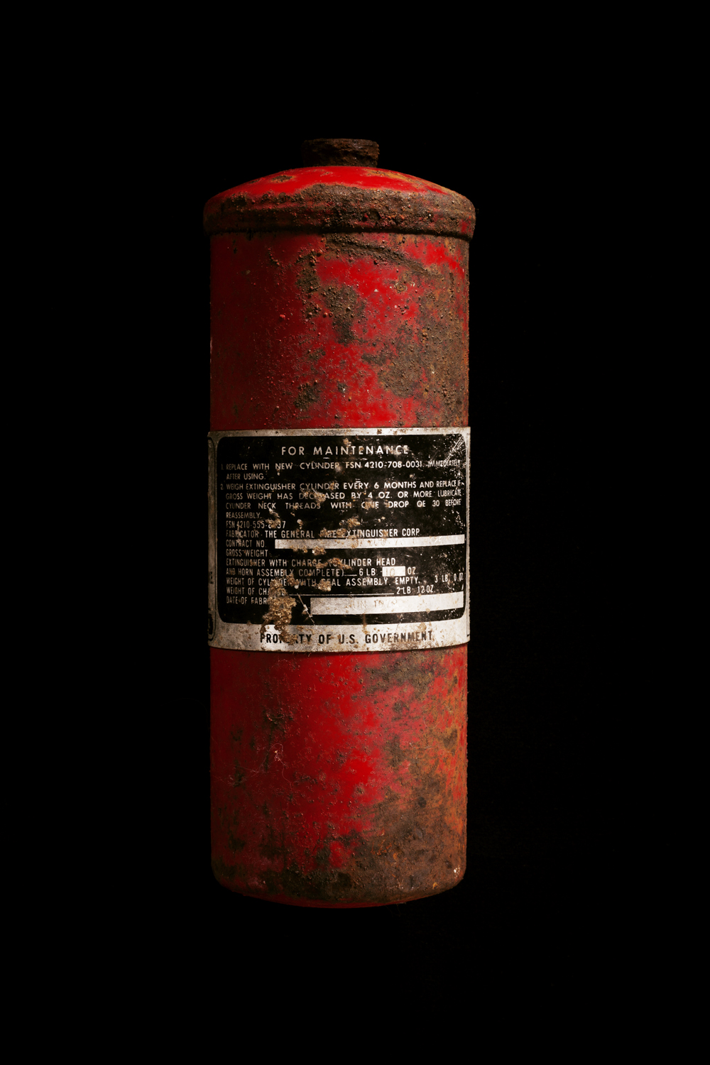 Fire Extinguisher, Wompatuck State Park