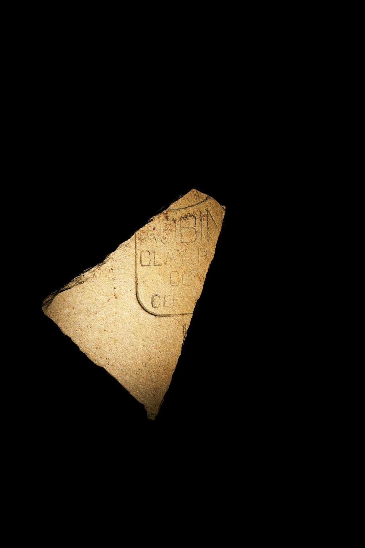 Pottery Fragment, Fort Revere Park