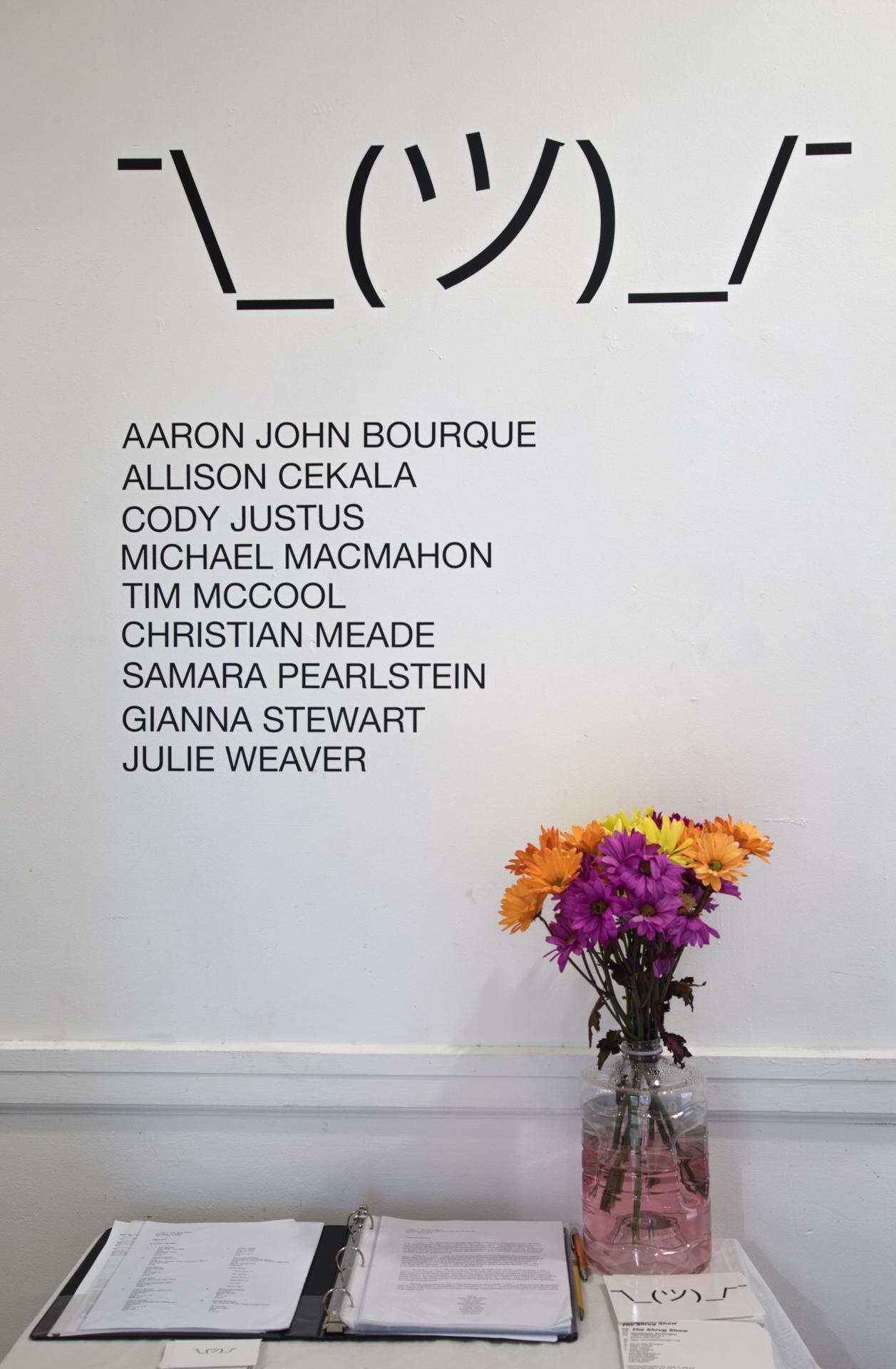 Wall Text - Dorchester Art Project