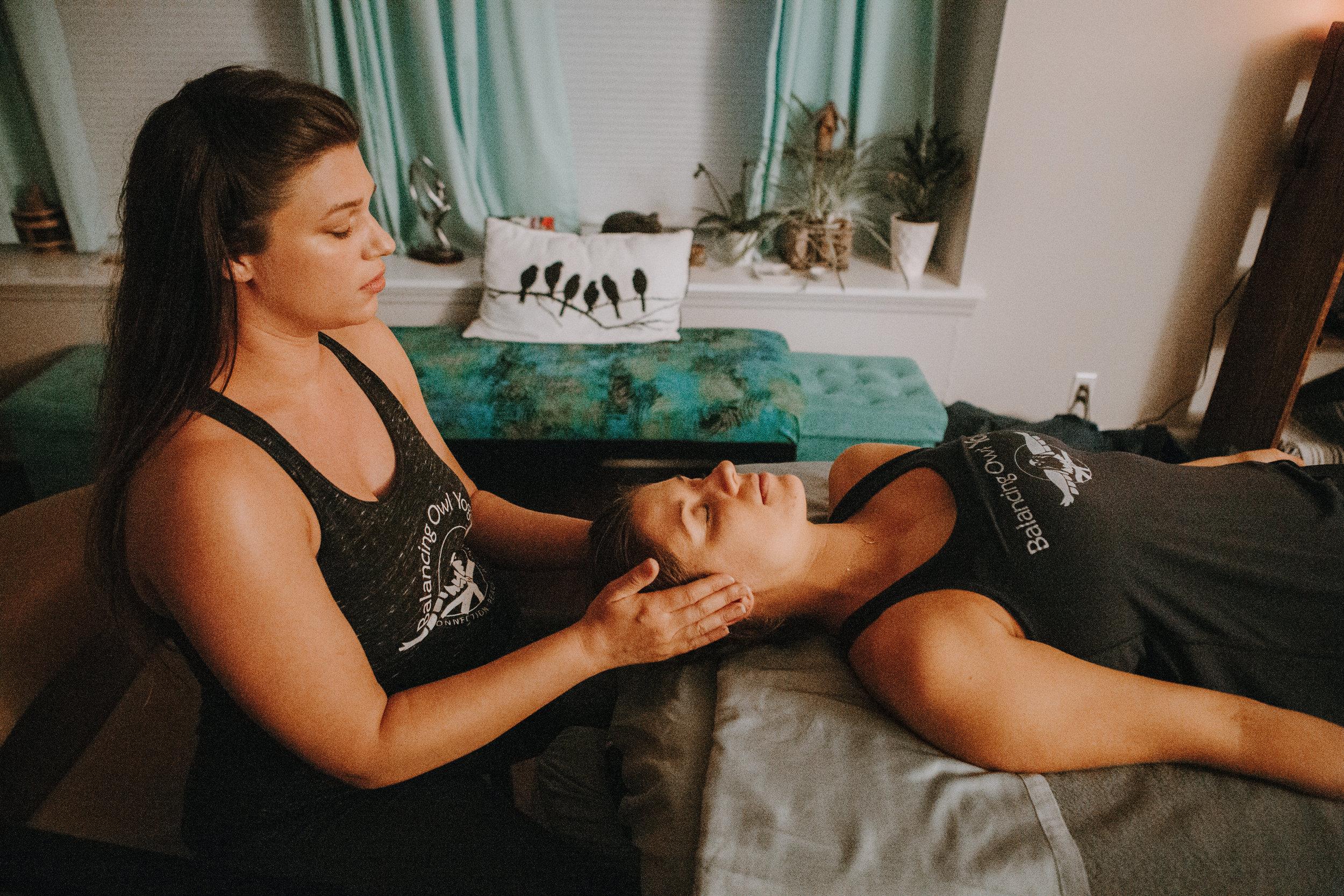 Katie Wenzel, Reiki Practitioner